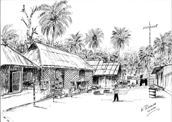 Mithanala (my village home)